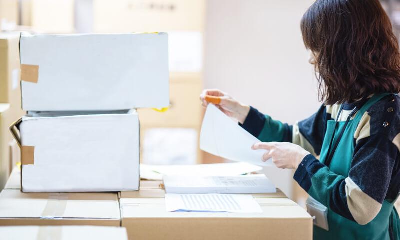 封入から配送までワンストップで対応可能