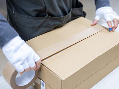 残資材の返送・廃棄、不着DMの返送